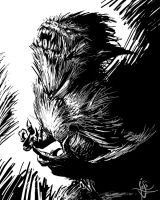 Wolfman by pencil206