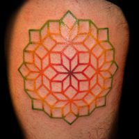 Geometric Tattoo by DanielPokorny