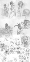 Sketches from my archive 1 by tommasorenieri