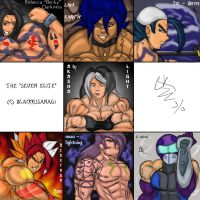 The Seven Essetsu by BlackKusanagi