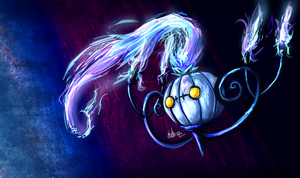 Chandelure by Beverii