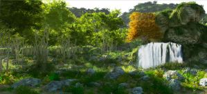 Bright Day Render Test by fizzoman