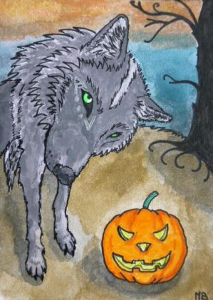 This isn't a ball...you tricked me! (ACEO trade) by Actlikenaturedoes