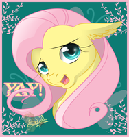 Fluttershy. Kindness by UniSoLeiL