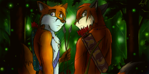 Foxes Brothers by ANGO76