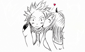 NaLu--sweetkiss by DragonShooter