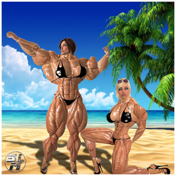 Muscle Madness by SLMUSCLE