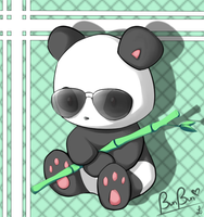 BunBun the Panda by GlaciesAenigma