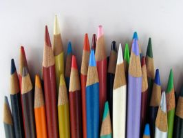 Stock - Pencil Crayon Series 4 by mystockphotos