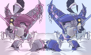 TFA - Pearls and Ribbons and Seekers by Rosey-Raven