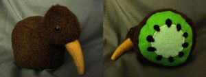 Kiwi Kiwi Plushie by GlacideaDay