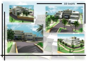 Hospital Project Design 2 by Abdelmajeed