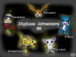 Digimon Adventure 02 Wallpaper by c-sacred