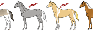 Horse Adopts (10x6) by Redbell9