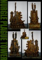 Nurgle Plague Tower 2 by JDHerring
