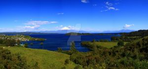 Panorama, Puerto Octay, Chile by chaosbreak