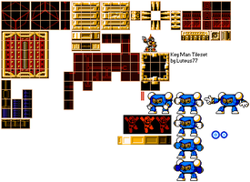 Key Man Tileset by luteus77