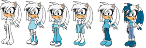 Sizilia The Hedgehog - Ref Sheet by MephistaTheDark