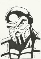 Scorpion's Face by MistermindH