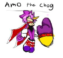 Amo the Chog by Rebeccakh