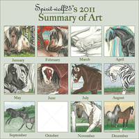 2011 Art Summary by Sablewynd