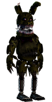 Nightmare Spring-Bonnie Full-Body by PrimeYT