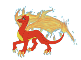 Firewing - point commission by IcelectricSpyro