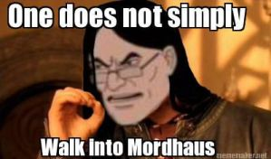 One does not simply... by Ardate