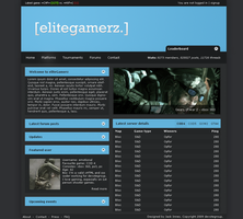 eliteGamerz design by jackinnes