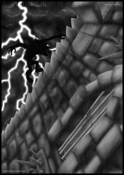 Stormy Ascent by teblad