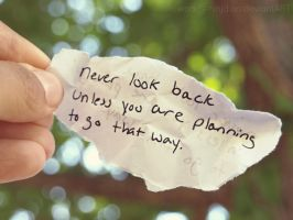 Never Look Back by hourglass-paperboats