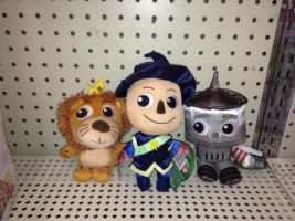 Legends of Oz Plushies: Main 3 by KessieLou