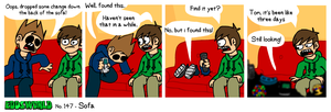 EWCOMIC No.147 - Sofa by eddsworld