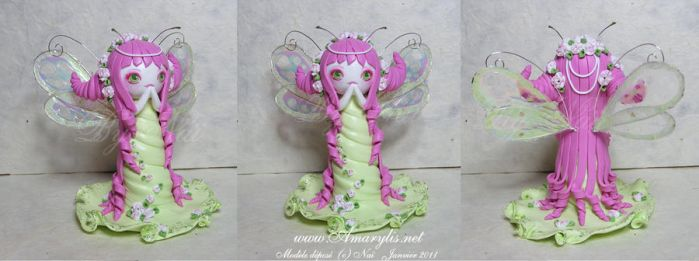 Fairy Fimo commission by Nailyce