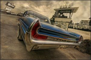 Bonneville - American old Car by devinandi