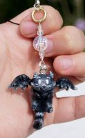 Cat Griffin Charm by ArachRoy