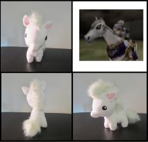 Zelda's mare plush by Miss-Zeldette