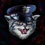 Police Cat by nicebleed83