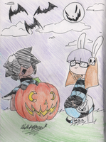 ~:!Happy Halloween!:~ by DeathPuppy9000