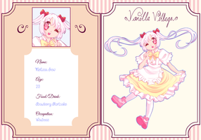 ::VV Application - Melissa Snow:: by mochibuns