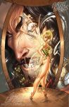 TinkerBell and Captain HOOK by J-Scott-Campbell