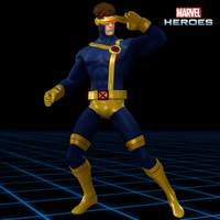 Marvel Heroes - Cyclops [90's X-Men] by CaxUchiha