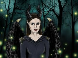 Maleficent by kriledins