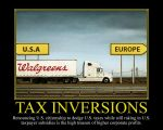 Tax Inversions Motivational Poster by DaVinci41