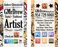 New Biz Card by GMrDrew