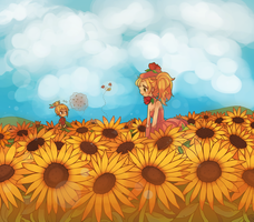 PoP: Sunflowers by ichigo-tan