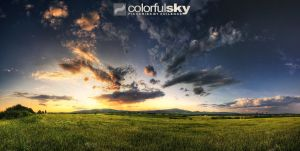 colorfulSKY SERIES - 10 by MDEVIANCE