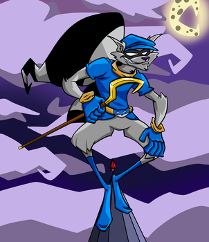 Sly Cooper by ThePS2Gator