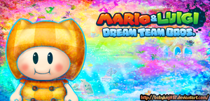 Mega Pi'illo - Mario and Luigi Dream Team Bros. by babyluigi957