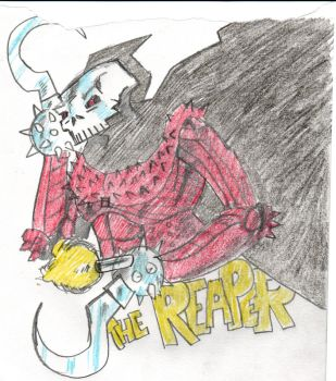 The Reaper by PeterHammerson